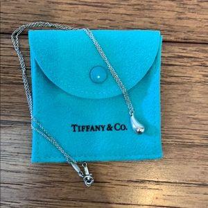 Tiffany & Co tear drop necklace